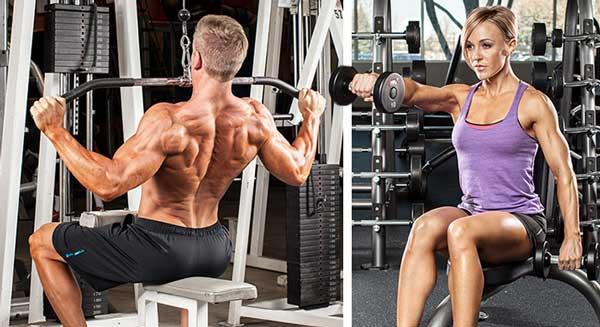 تقویت عضلات در تمرینات دوره ای بدنسازی