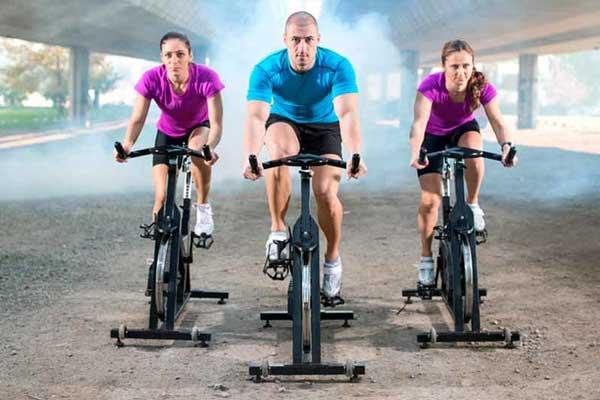 شدت ورزش اسپینینگ