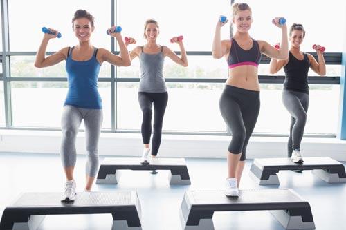 تاثیر ایروبیک بر لاغری و بدن