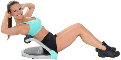 حرکت تمرینی شکم با دستگاه دراز نشست