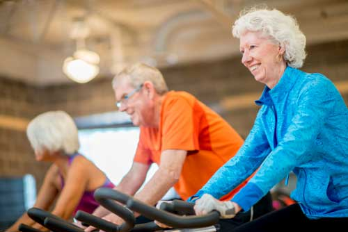 دوچرخه ثابت برای سلامتی و افزایش طول عمر عالی است
